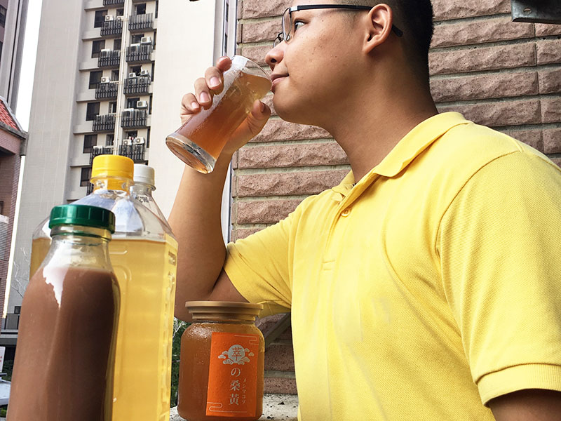 桑黃茶陪你對抗酷熱