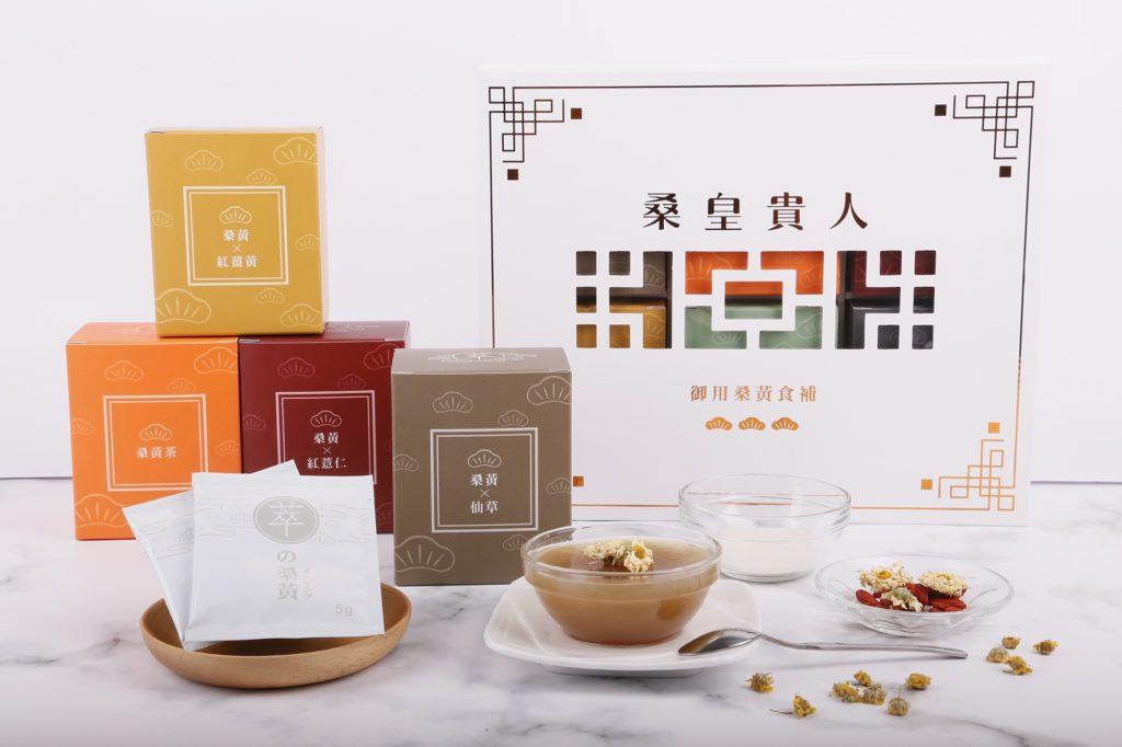 桑黃仙草茶凍