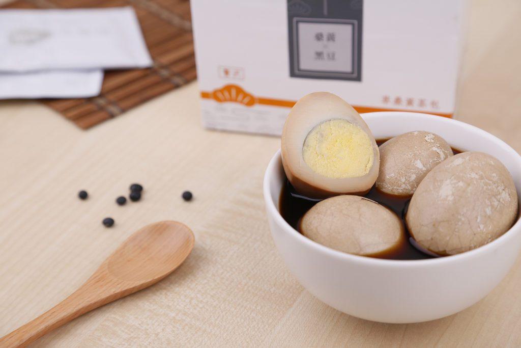 天氣冷,來顆桑黃黑豆茶葉蛋!